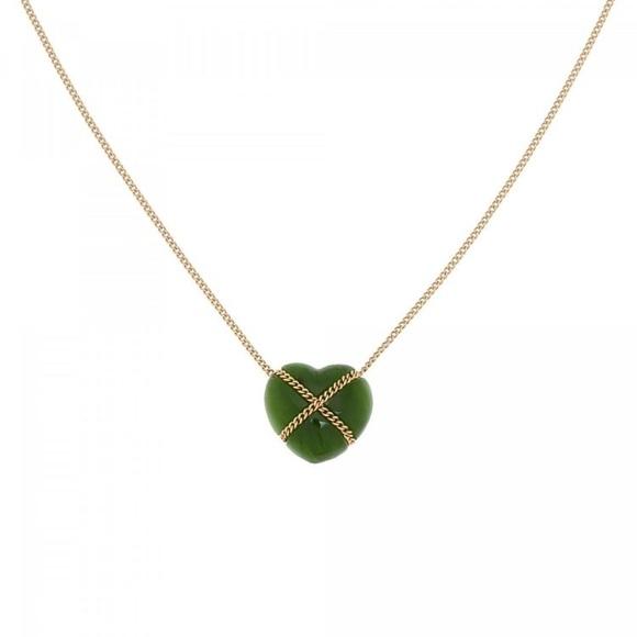 e0b6b98a0 Tiffany & Co. Jewelry | Rare Vintage Tiffany Jade Heart Pendant ...